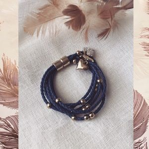 Jewelry - Blue Braided Bracelet